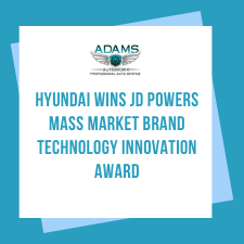 Hyundai wins JD Powers Mass Market Brand Technology Innovation Award